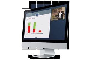 exemple de présentation d'écran lors du streaming en ligne avec duvall