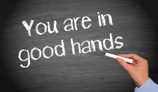 U bent in goede handen